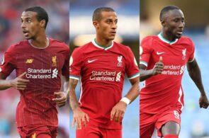 Joel Matip, Thiago Alcantara, Naby Keita - Liverpool