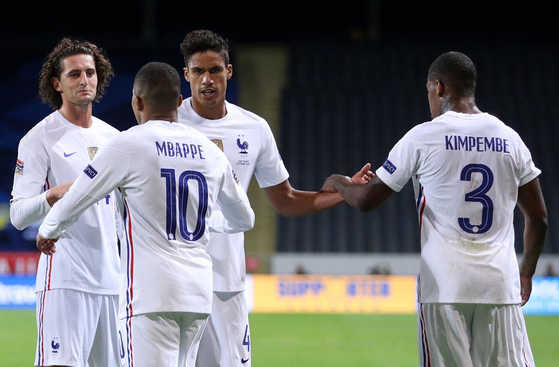 France vs Sweden - Nations League