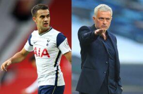 Sergio Reguilon, Jose Mourinho - Tottenham