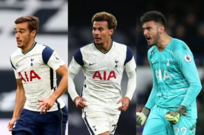 Dele Alli, Harry Winks, and Paulo Gazzaniga - Tottenham