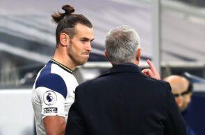 Garteh Bale & Jose Mourinho - Real Madrid