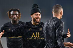 Moise Kean, Neymar, Kylian Mbappe - Paris Saint-Germain