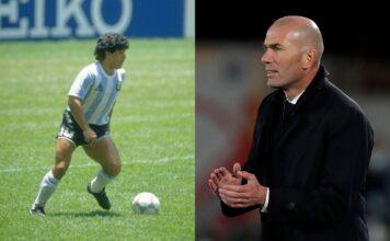 Diego Maradona, Zinedine Zidane