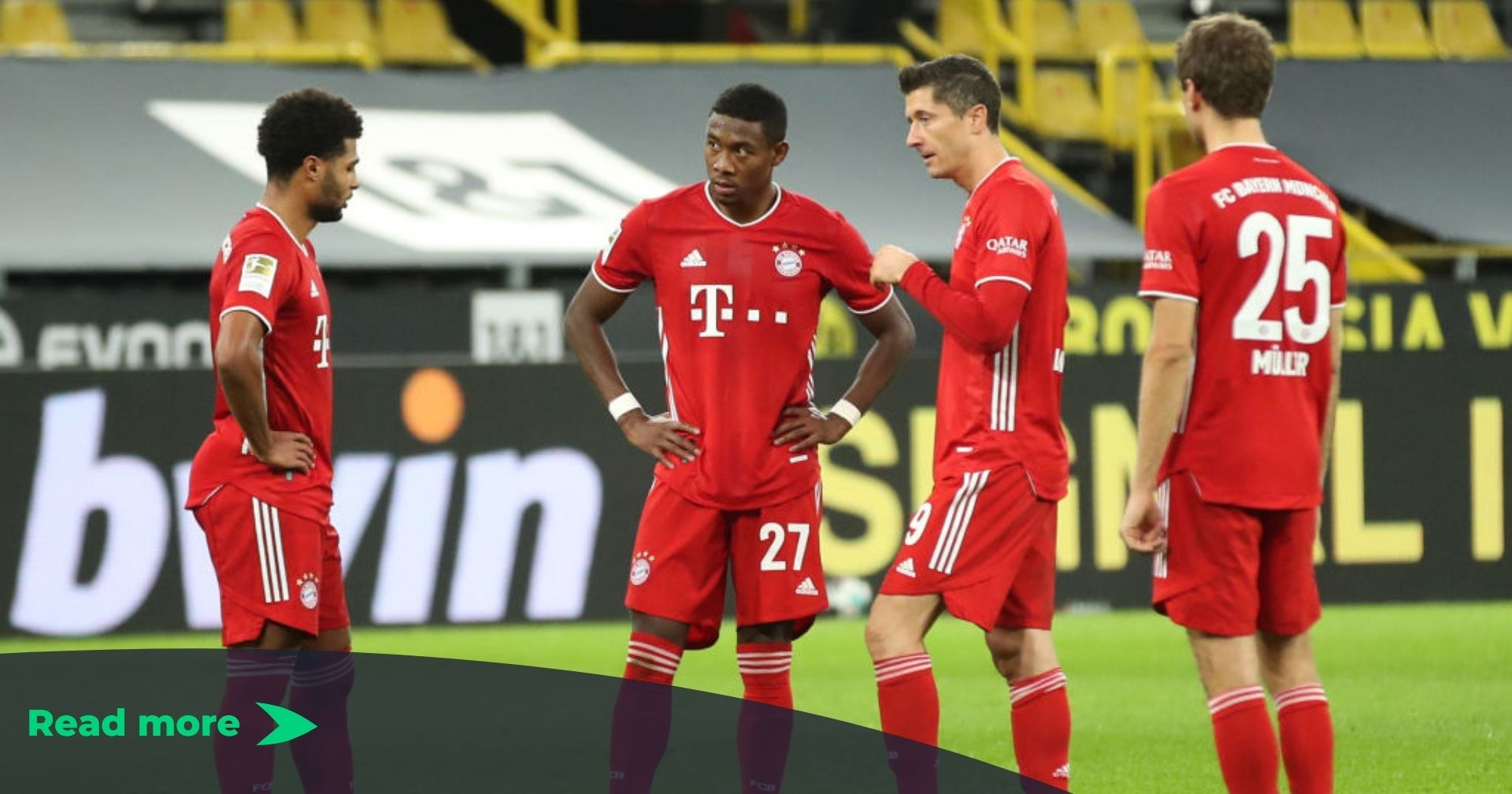Borussia Dortmund 2 3 Bayern Munich Bundesliga Player Ratings