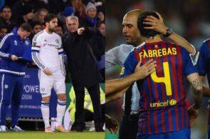 Fabregas, Mourinho, Guardiola
