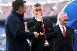 Ole Gunnar Solskjaer, Gary Neville, Manchester United