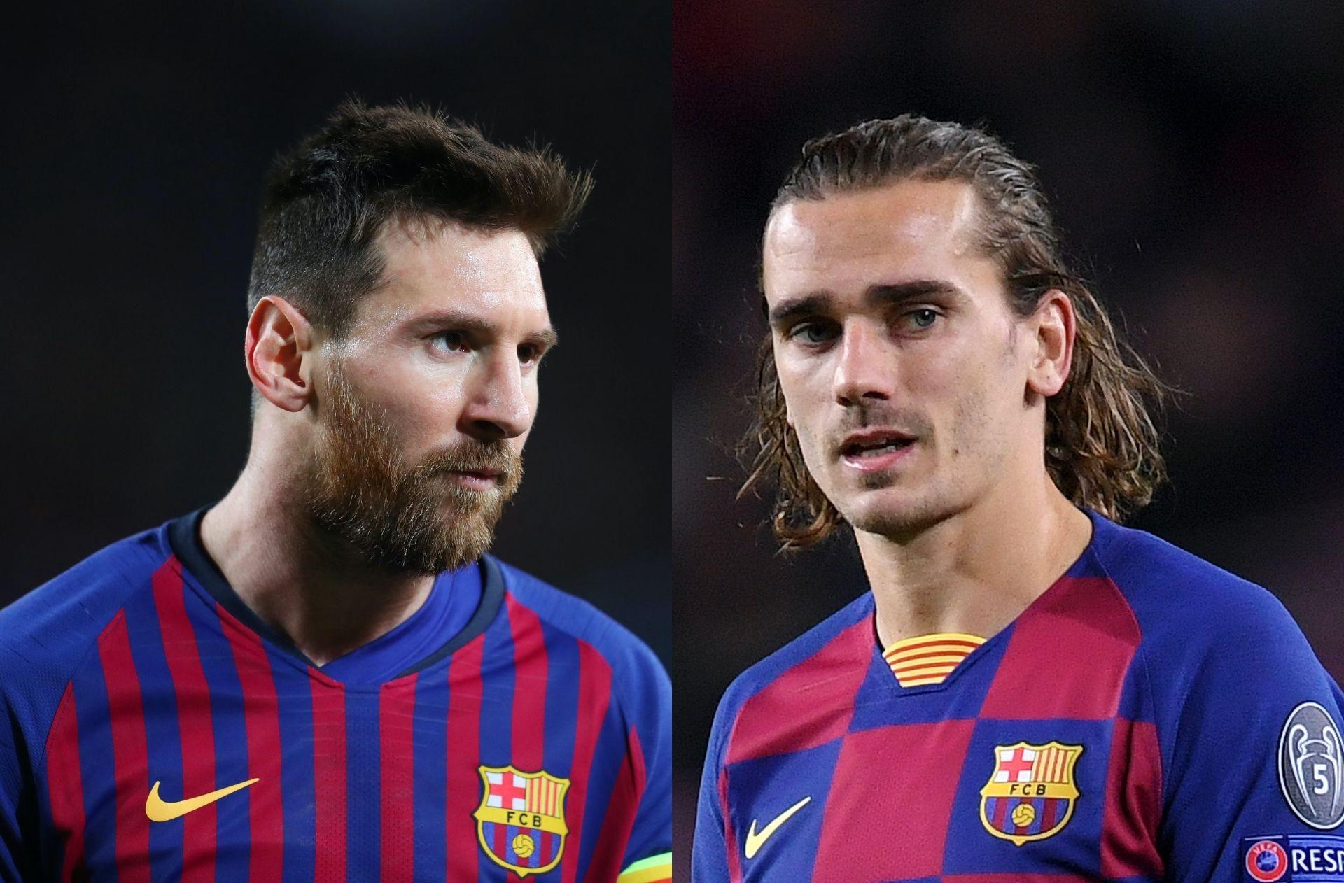 Lionel Messi, Antoine Griezmann, FC Barcelona