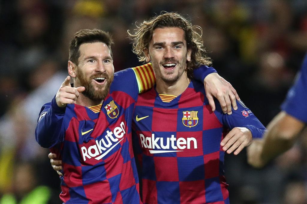 Messi, Griezmann