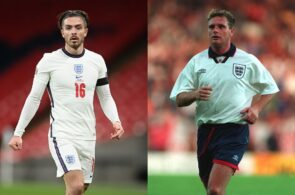 Jack Grealish, Paul Gascoigne, England