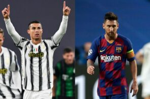 Cristiano Ronaldo, Lionel Messi, Globe Soccer, Player of the Century