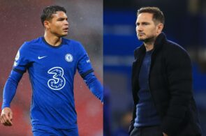 Thiago Silva, Frank Lampard, Chelsea