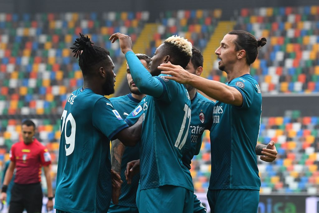 Udinese 1-2 AC Milan - Serie A Player Ratings