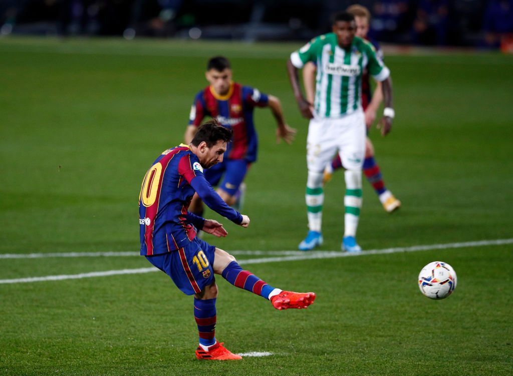 Fc Barcelona 5 2 Real Betis La Liga Player Ratings