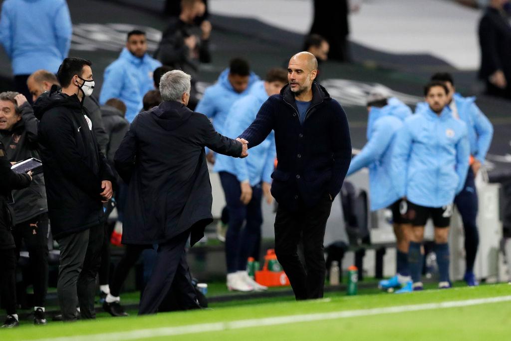 Pep Guardiola, Tottenham, Manchester City