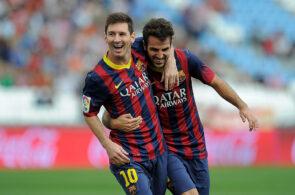 Cesc Fabregas, Lionel Messi, FC Barcelona