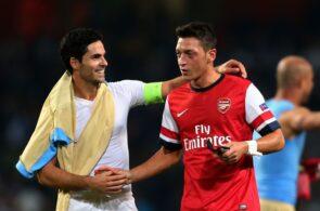 Mesut Ozil, Mikel Arteta, Arsenal