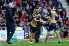 Mesut Ozil, Arsenal, Jack Wilshere