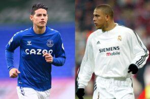 James Rodriguez, Ronaldo Nazario