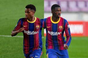 Ansu Fati & Ousmane Dembele - FC Barcelona