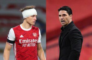 David Luiz & Mikel Arteta - Arsenal