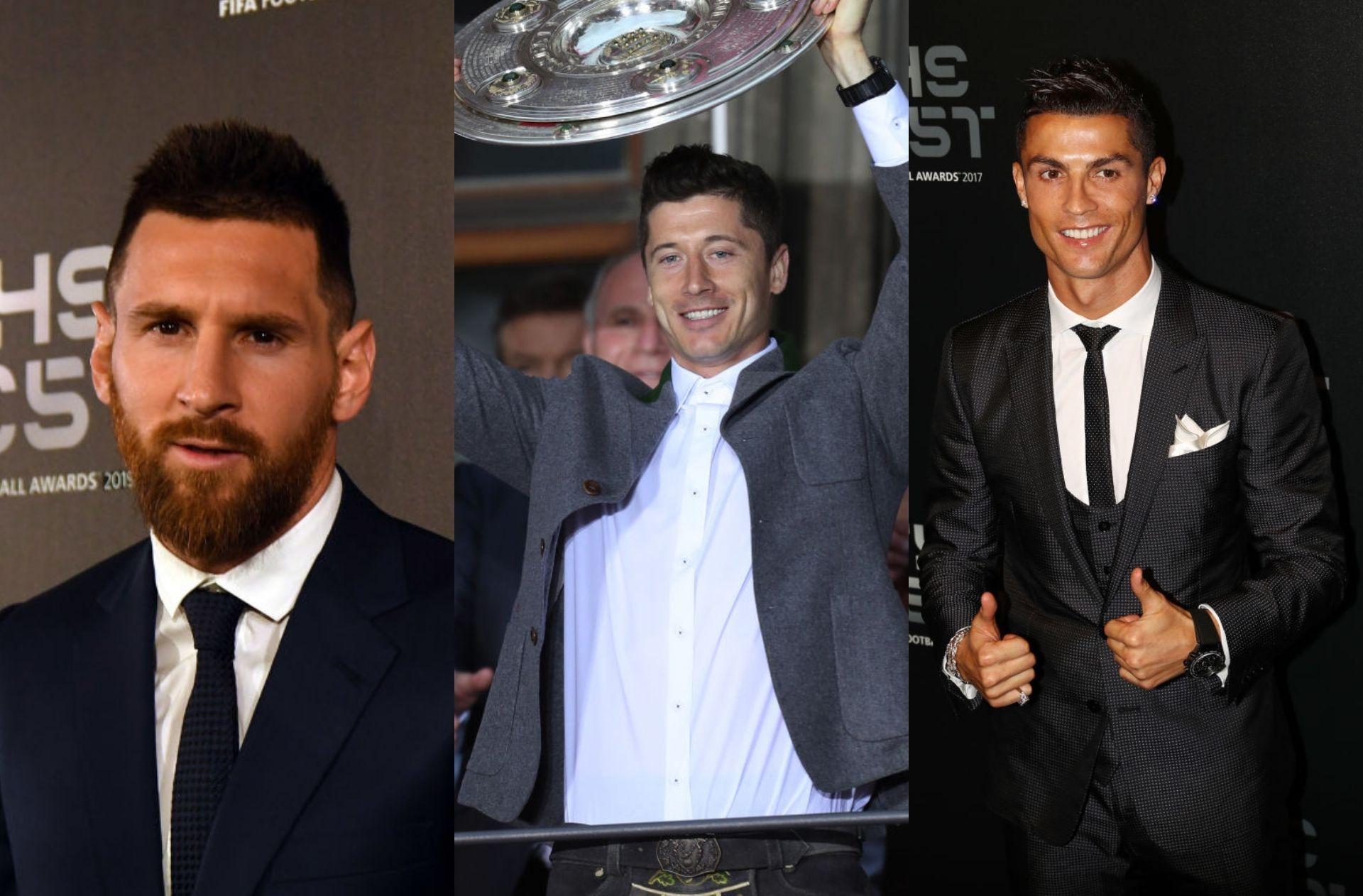 Messi, Ronaldo, Lewandowski, FIFA The Best