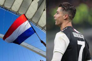 Netherlands flag, Cristiano Ronaldo