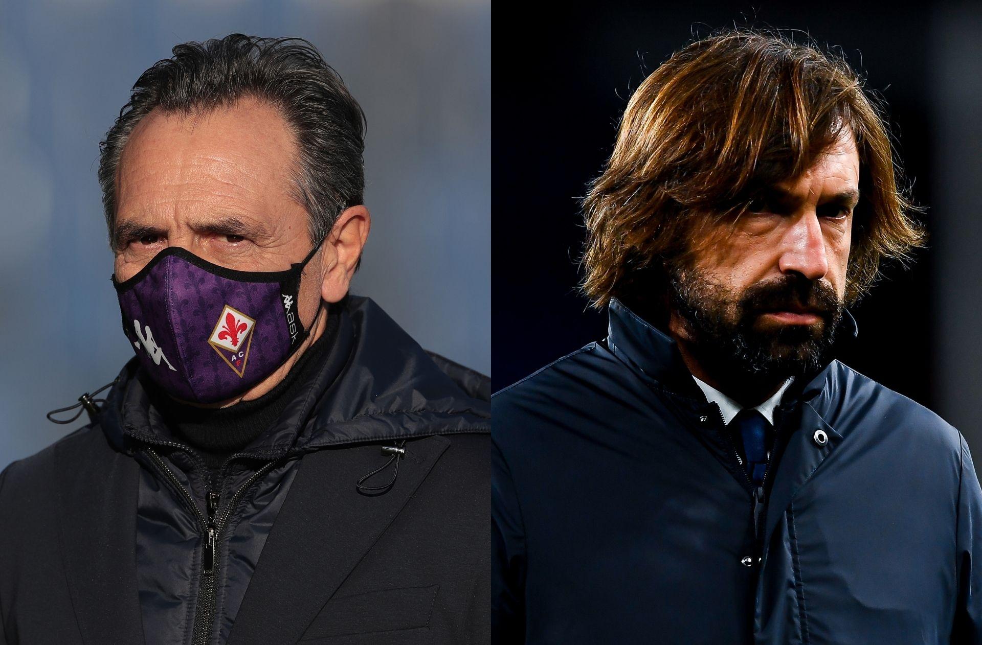 Cesare Prandelli, Andrea Pirlo, Fiorentina, Juventus