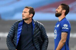Frank Lampard, Olivier Giroud, Chelsea