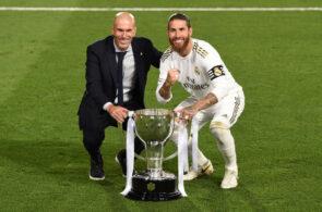 Zinedine Zidane, Sergio Ramos, Real Madrid