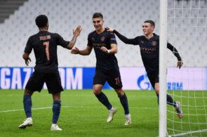 Olympique de Marseille v Manchester City: Group C - UEFA Champions League