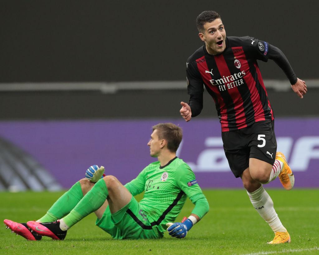Diogo Dalot, AC Milan, UEFA Europa League