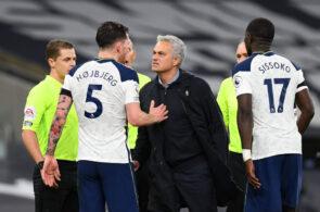 Jose Mourinho, Pierre-Emile Hojbjerg, Tottenham