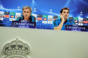 Iker Casillas, Jose Mourinho, Real Madrid