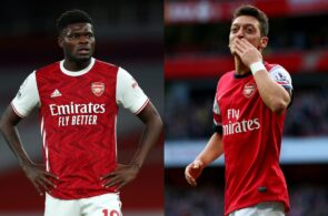 Thomas Partey, Mesut Ozil, Arsenal