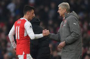 Arsene Wenger, Mesut Ozil, Arsenal