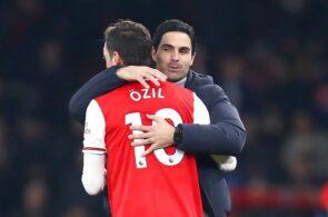 Mesut Ozil, Mikel Arteta - Arsenal