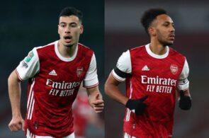 Gabriel Martinelli & Pierre-Emerick Aubameyang - Arsenal