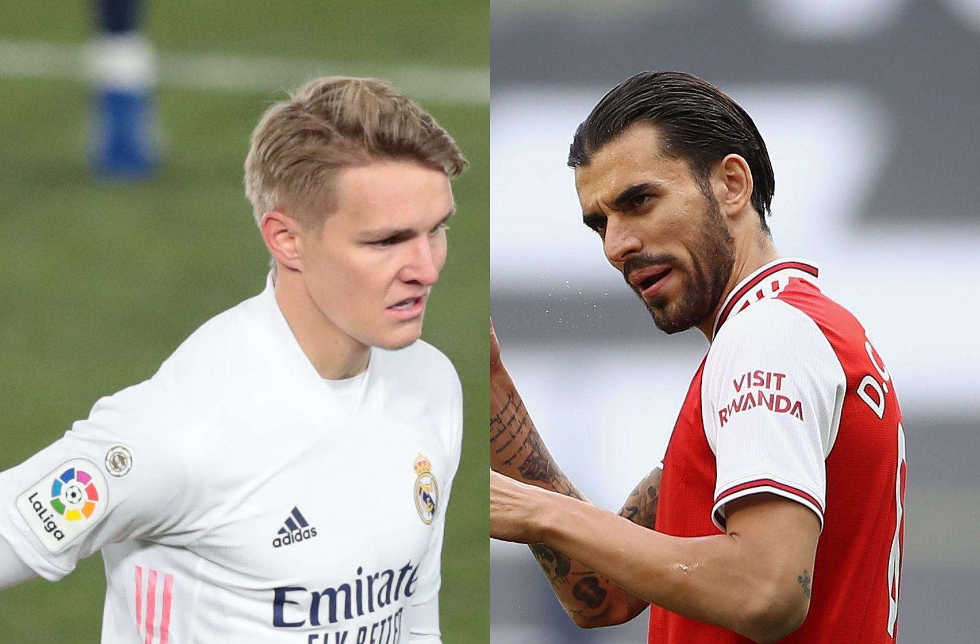 Martin Odegaard - Real Madrid, Dani Ceballos - Arsenal