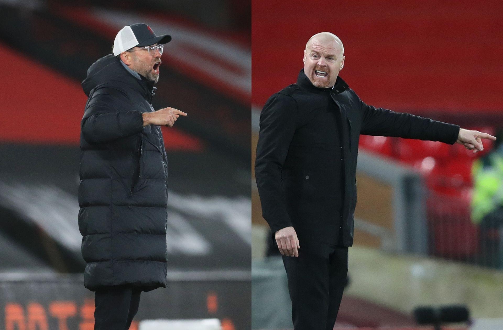 Jurgen Klopp - Liverpool, Sean Dyche - Burnley