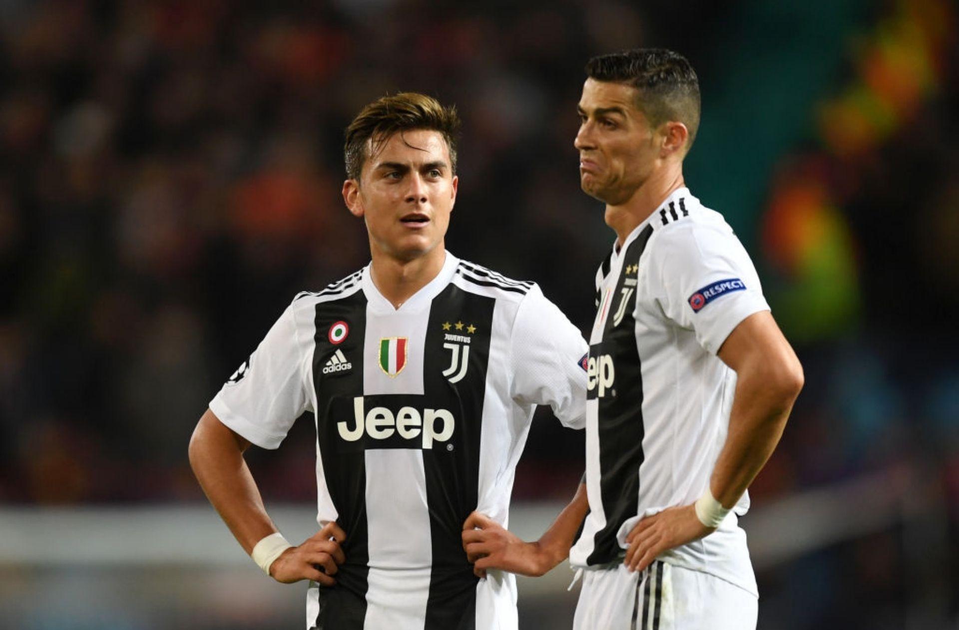Paulo Dybala, Cristiano Ronaldo, PSG, Juventus