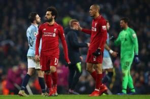 Fabinho, Mohamed Salah