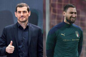 Iker Casillas, Gianluigi Donnarumma, AC Milan