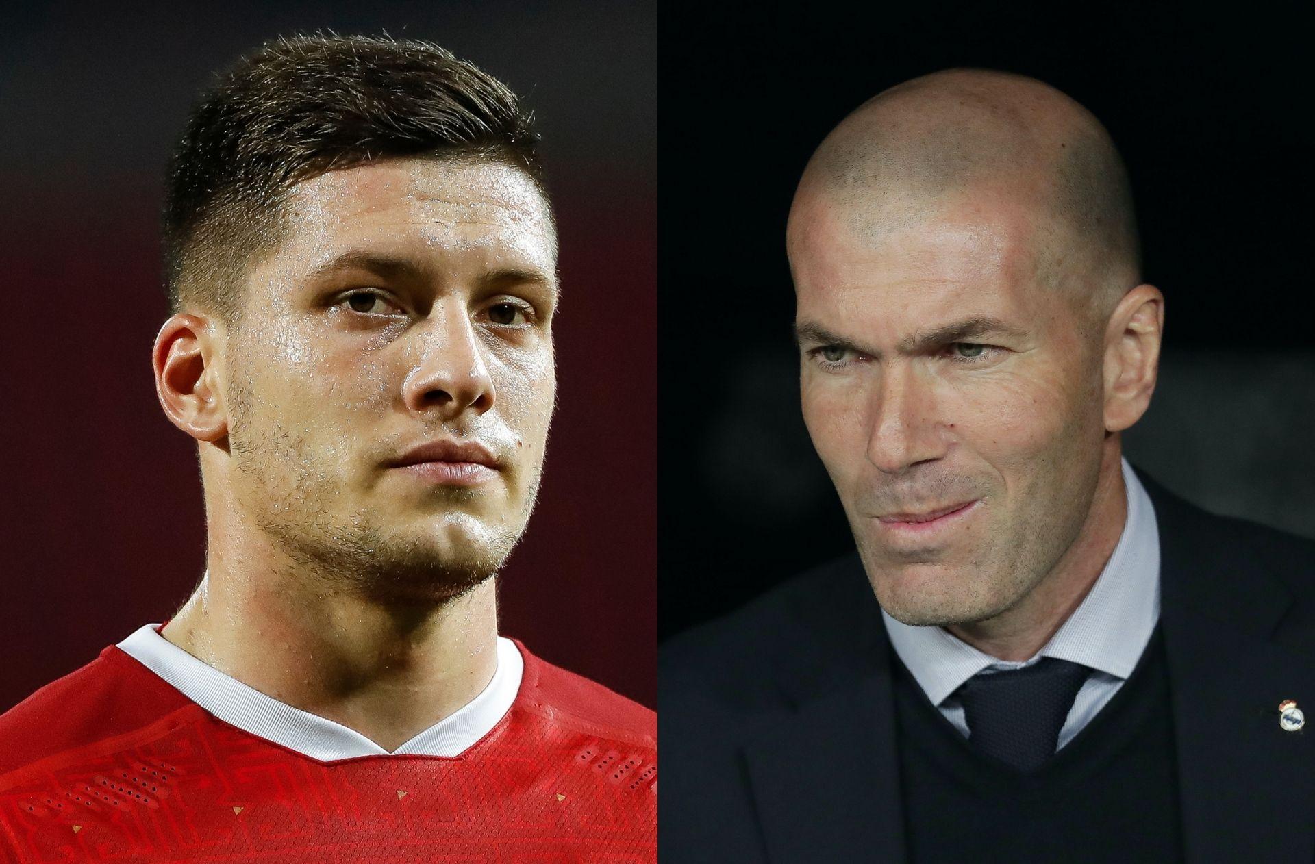 Luka Jovic, Zinedine Zidane, Real Madrid