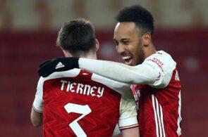 Pierre-Emerick Aubameyang, Kieran Tierney, Arsenal