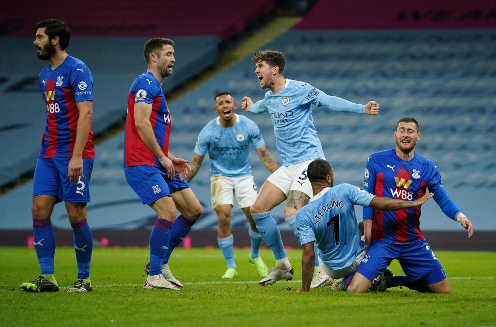 Manchester City vs Crystal Palace - Premier League