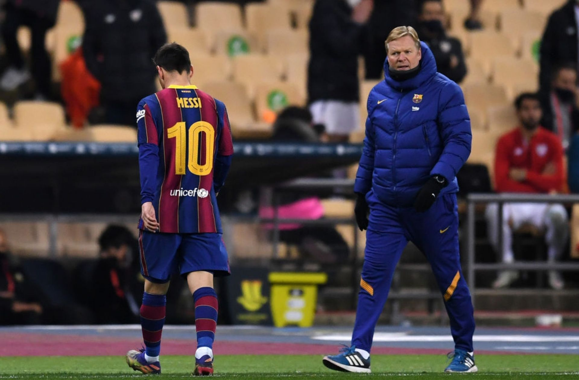 Lionel Messi, Ronald Koeman, FC Barcelona