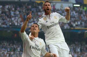 Sergio Ramos, Cristiano Ronaldo, Real Madrid