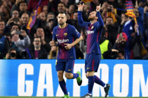 Jordi Alba, Lionel Messi, FC Barcelona