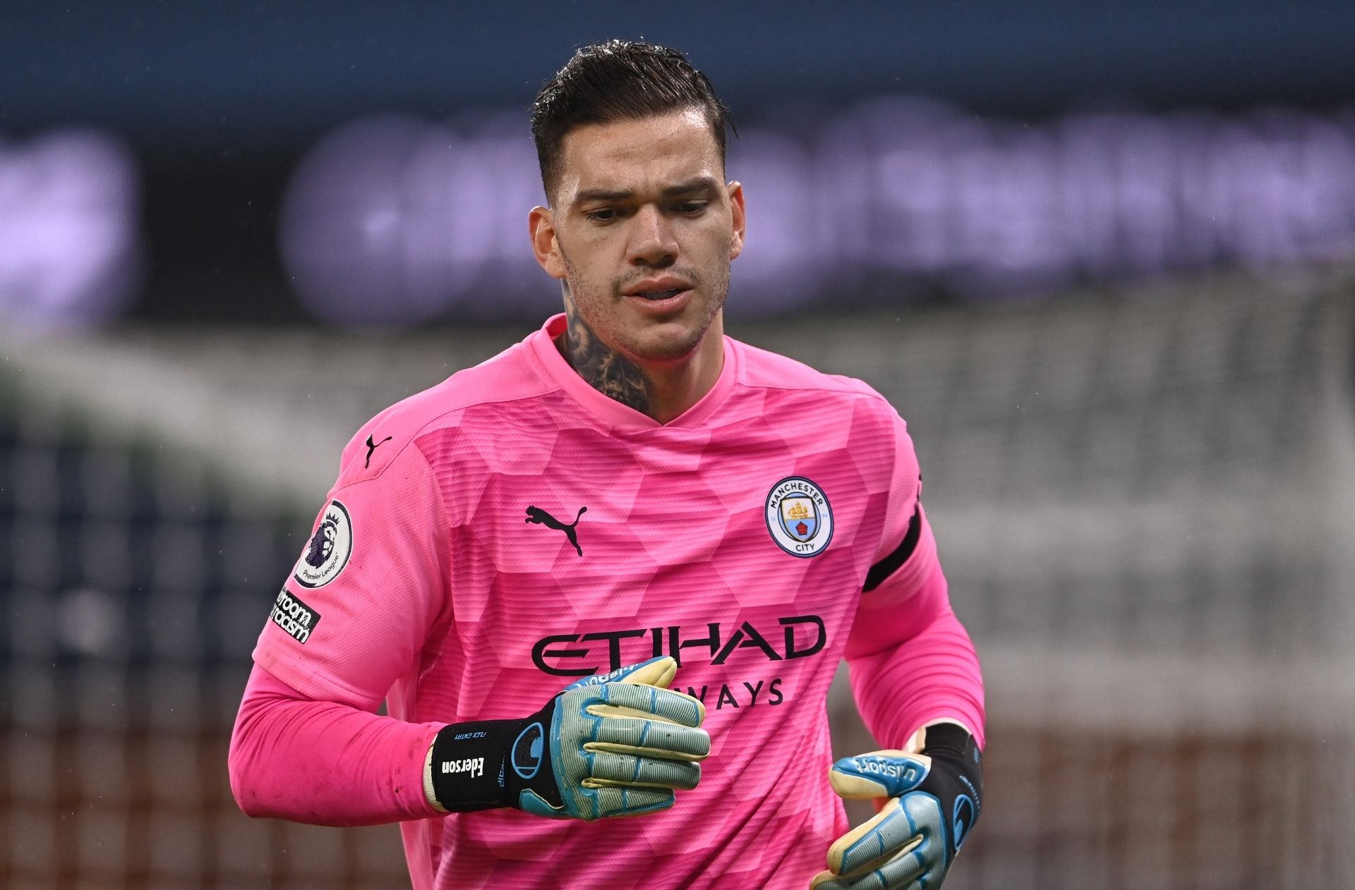 Ederson could be handed Man City penalty duties - Guardiola