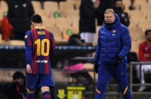 Lionel Messi & Ronald Koeman - FC Barcelona